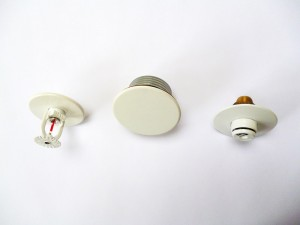 A-collection-of-sprinkler-heads