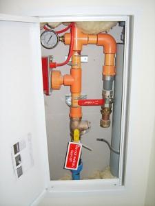 Fire Sprinkler System Plumbing