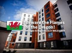 Marketing marks the beginning of the new legislation for Wales Building regulations for sprinkler systems