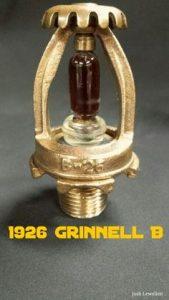 Grinnell Silica Bulb Sprinkler