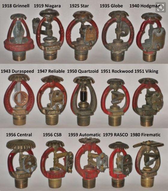 Grinnell sprinkler heads - RAD Fire Sprinklers